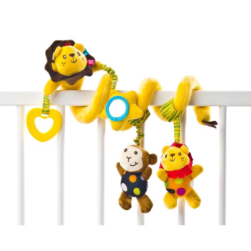 Spirala cu jucarii pentru patutcarucior Lion