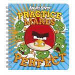 Angry Birds carnetel cu spirala
