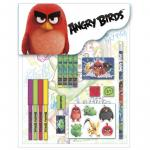 Angry Birds set de 16 piese papetarie