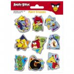 Angry Birds stickere puffy