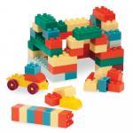 Cuburi de construit si carucior Battat