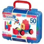 Cutie 50 cuburi de construit Bristle Blocks