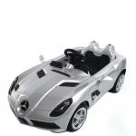 Masinuta electrica Mercedes McLaren Limited Edition Grey roti din cauciuc si telecomanda