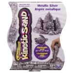 Nisip Kinetic Metalic Argintiu 454 g - Kinetic Sand