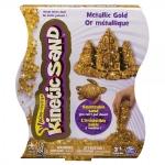 Nisip Kinetic Mettalic Auriu 454g - Kinetic Sand