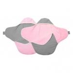 Paturica Coco reversibila moonles-pink Wallaboo