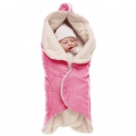 Paturica floare cu blanita Sweet pink Wallaboo
