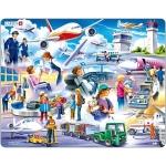 Puzzle Aeroport, 42 Piese Larsen LRUS27