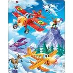 Puzzle Avioane, 20 Piese Larsen LRUS12