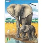 Puzzle Elefant, 32 Piese Larsen LRD8