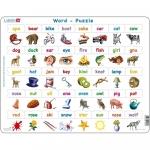 Puzzle Invatam sa Citim in Limba Engleza, 40 piese Larsen LRLS41-GB