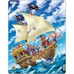 Puzzle Pirati, 30 Piese Larsen LRUS9