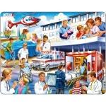 Puzzle Spital, 25 Piese Larsen LRUS33