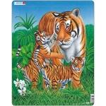 Puzzle Tigru, 23 Piese Larsen LRD6