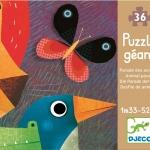 Puzzle gigant Djeco Parada animalelor