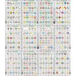 Set 12 Puzzle-uri 1-2-3, 25 Piese Larsen LRP46