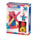 Set 36 cuburi de construit Bristle Blocks