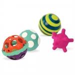 Set 4 mingi zornaitori B.Toys