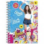 Soy Luna agenda cu spirala A6