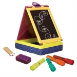 Tabla portabila cu markere si creta B.Toys
