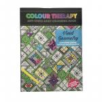Carte antistres de colorat Vivid Geometry, A4 64 pag