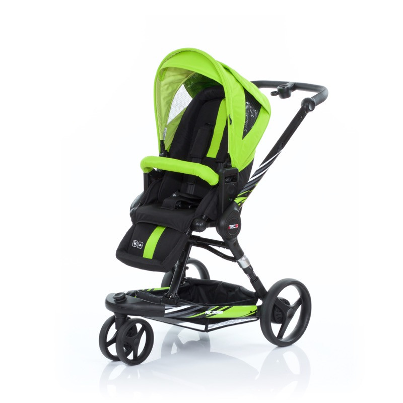 Carucior 3 Tec Plus Lime Abc Design