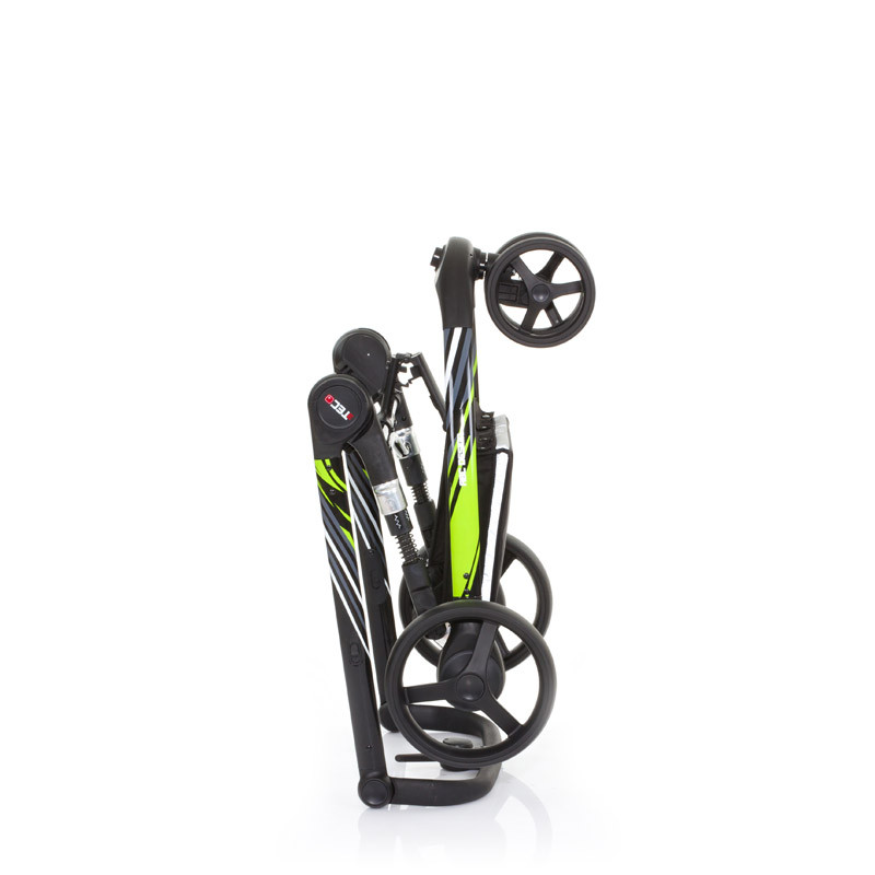 Carucior 3 Tec Plus Lime Abc Design