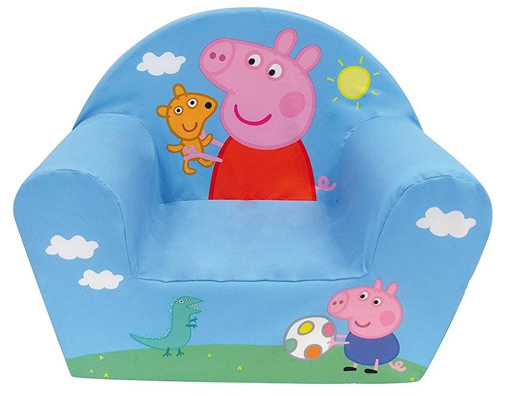 Fotoliu din burete Peppa Pig