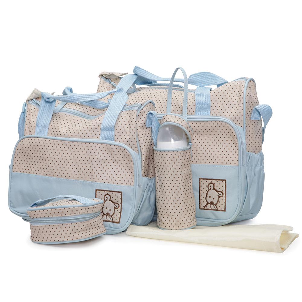 Geanta Pentru Mamici Mama Bag Stella Blue