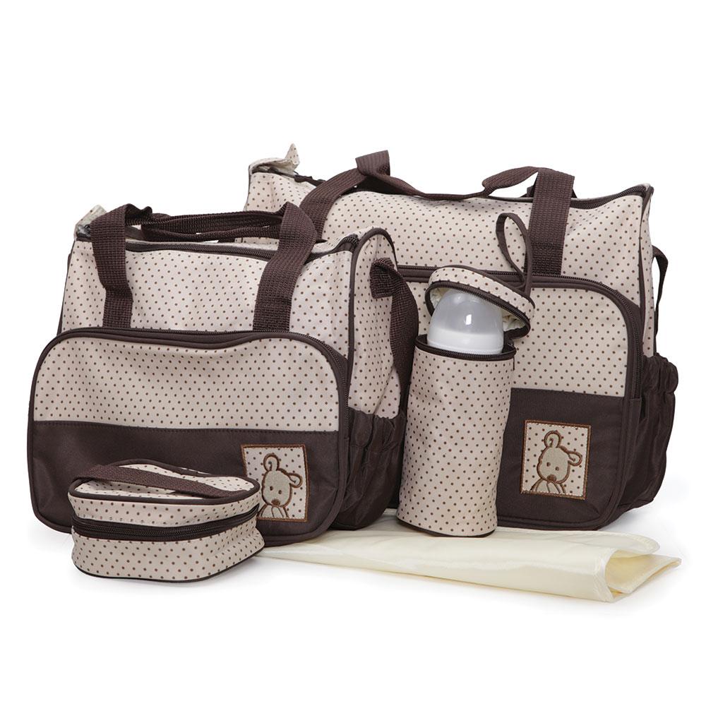 Geanta pentru mamici Mama Bag Stella Brown