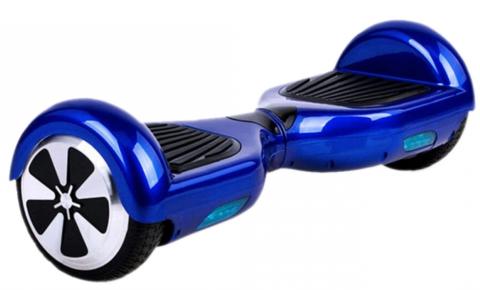 Hoveboard Elctric Lunar Sdb 6.5 Blue Bluetooth Si Telecomanda