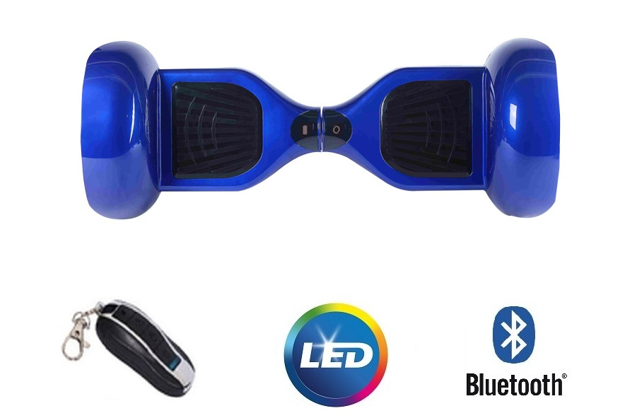 Hoveboard electric I-Bex 10 Blue Bluetooth si Telecomanda