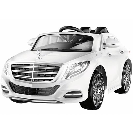 Masinuta electrica cu telecomanda Mercedes Benz S-Class White