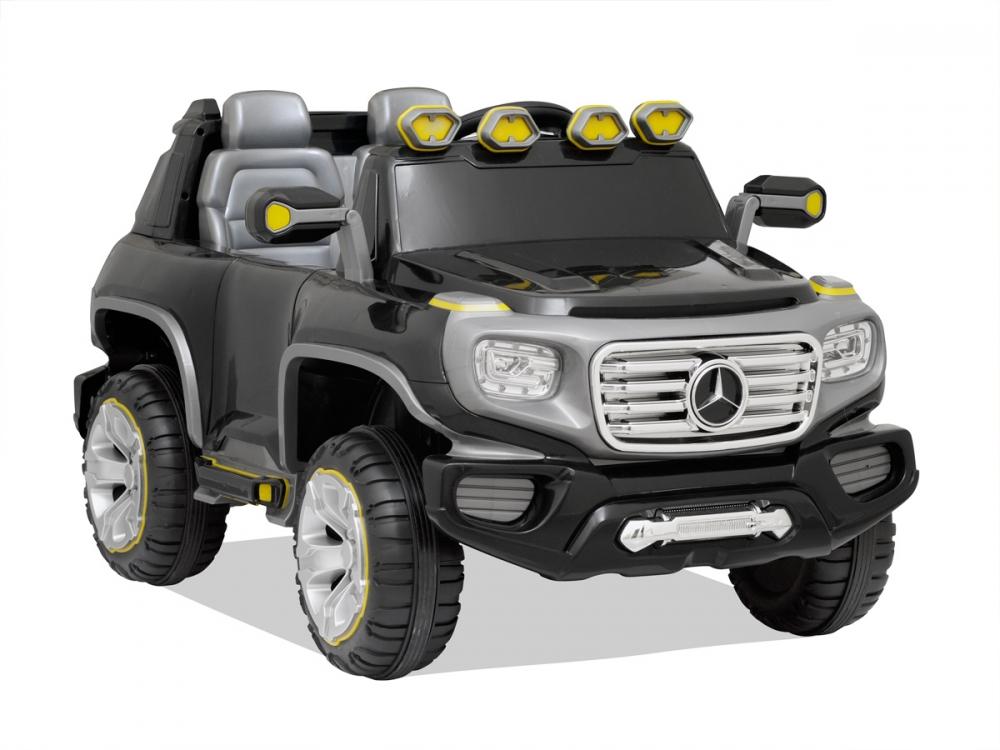 Masinuta electrica cu telecomanda Mercedes Benz G-Force Black