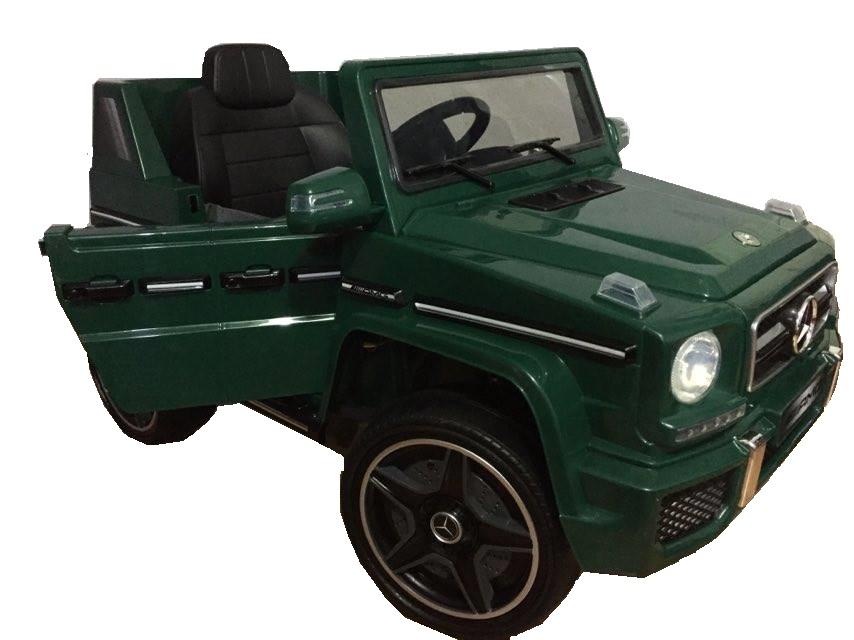 Masinuta electrica cu telecomanda Mercedes G63 Verde