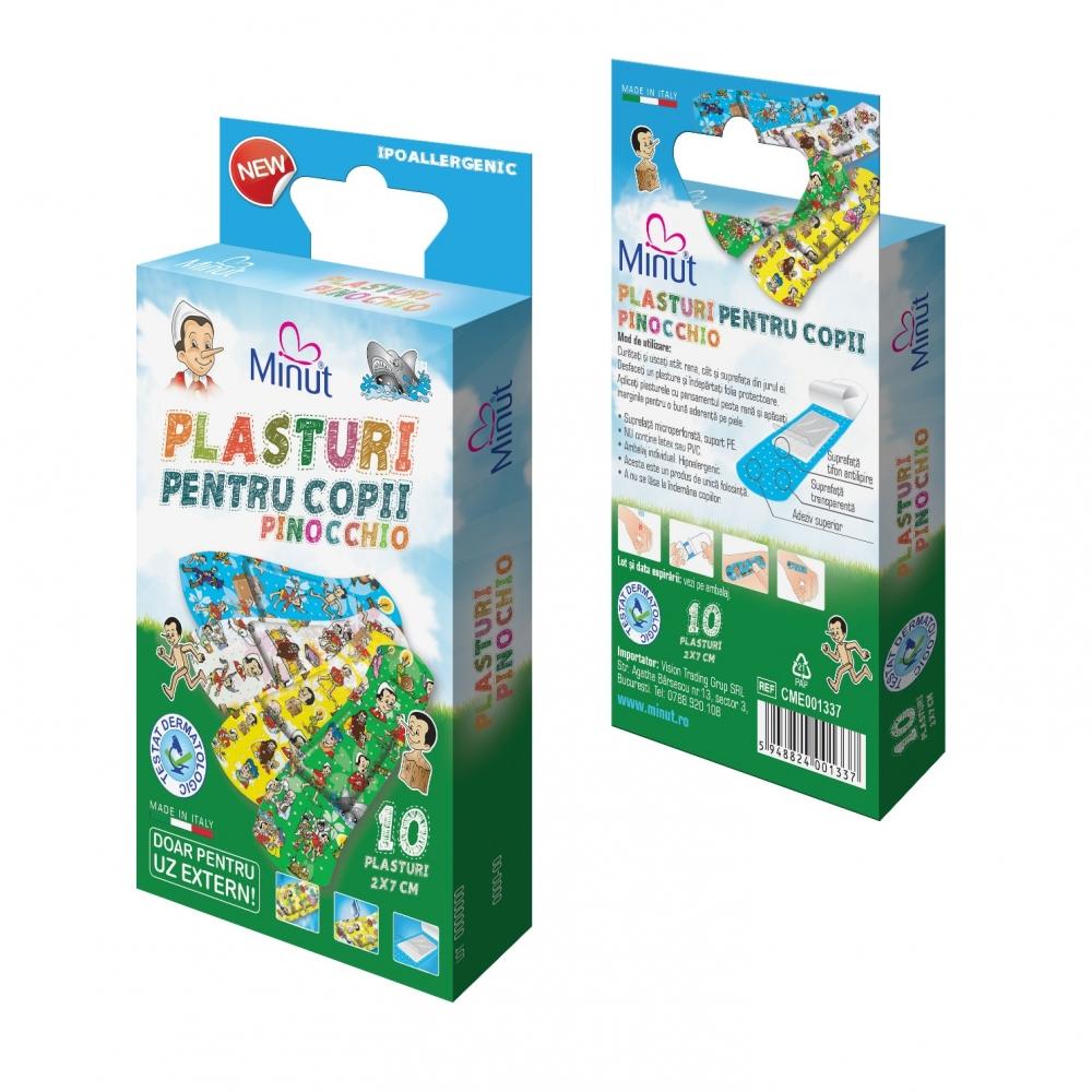 Plasturi Minut pentru copii PINOCCHIO