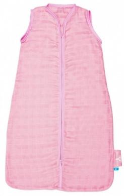 Sac de dormit de vara 0-6 luni Pink Wallaboo