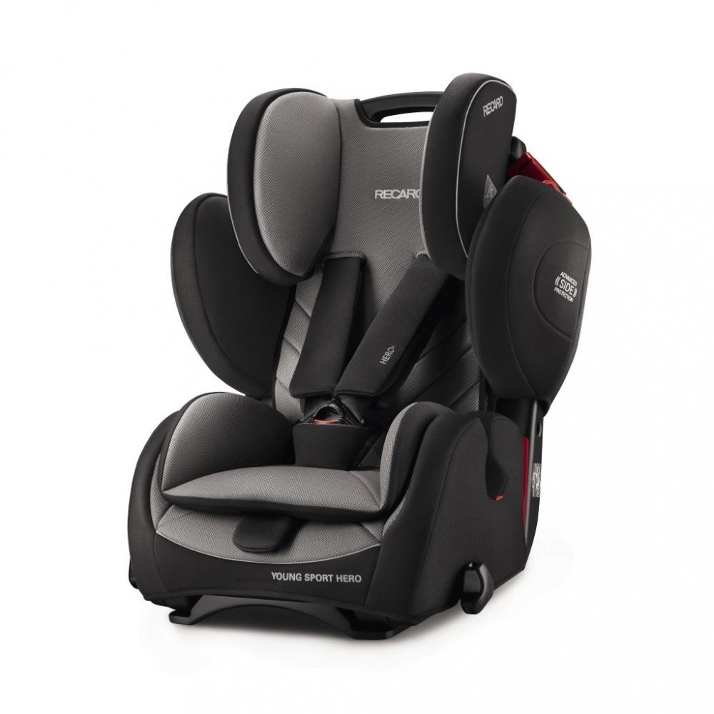Scaun Auto Pentru Copii Fara Isofix Young Sport Hero Carbon Black