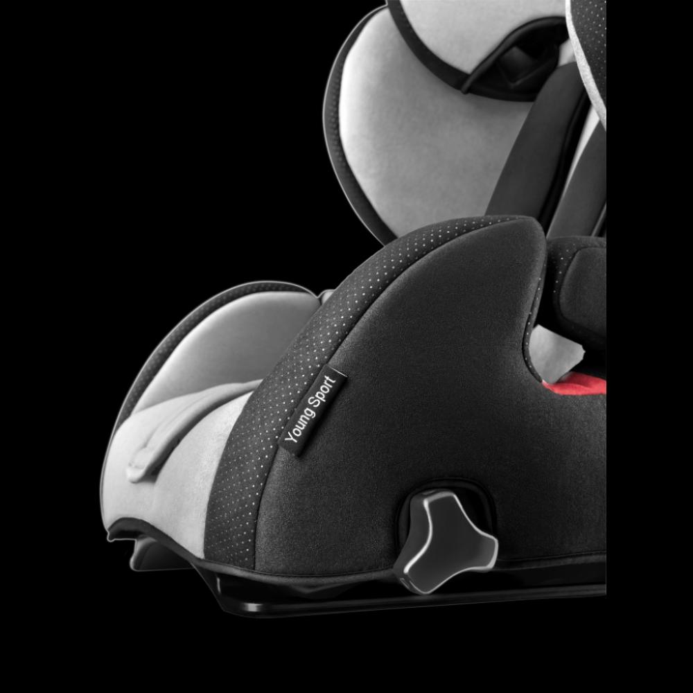 Scaun Auto pentru Copii fara Isofix Young Sport Hero Carbon Black imagine