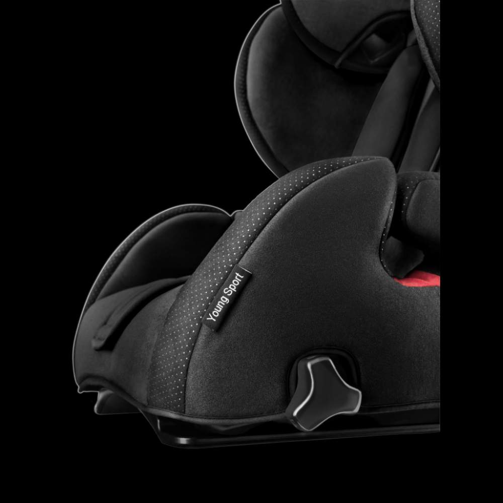 Scaun Auto pentru Copii fara Isofix Young Sport Hero Performance Black