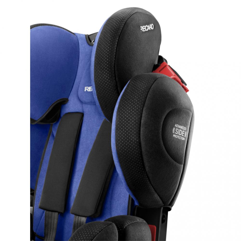 Scaun Auto pentru Copii fara Isofix Young Sport Hero Xenon Blue imagine