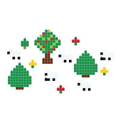 Sticker decorativ Lego Landscape