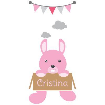 Sticker decorativ usa Bunny