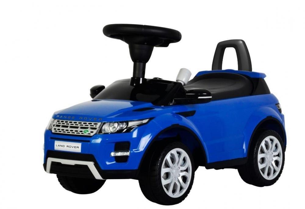 Vehicul pentru copii Range Rover Deluxe Blue din categoria La Plimbare de la BABY MIX
