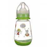 Biberon Minut Baby 150 ml cu tetina silicon 0+ diverse culori