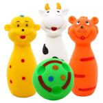 Set jucarii de baie Hencz Toys Mini Bowling