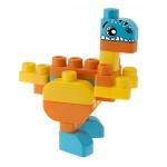 Jucarie Chicco App set 30 piese constructie 3D Dinozauri 12luni+
