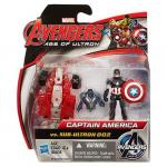 Mini Figurine Avengers - Captain America vs Sub-Ultron 002