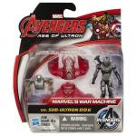 Mini Figurine Avengers - War Machine vs Sub-Ultron 006