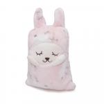 Paturica pentru copii Puffy Pink